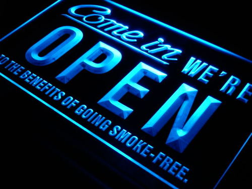 Come in We're Open Shop Cafe Neon Light Sign