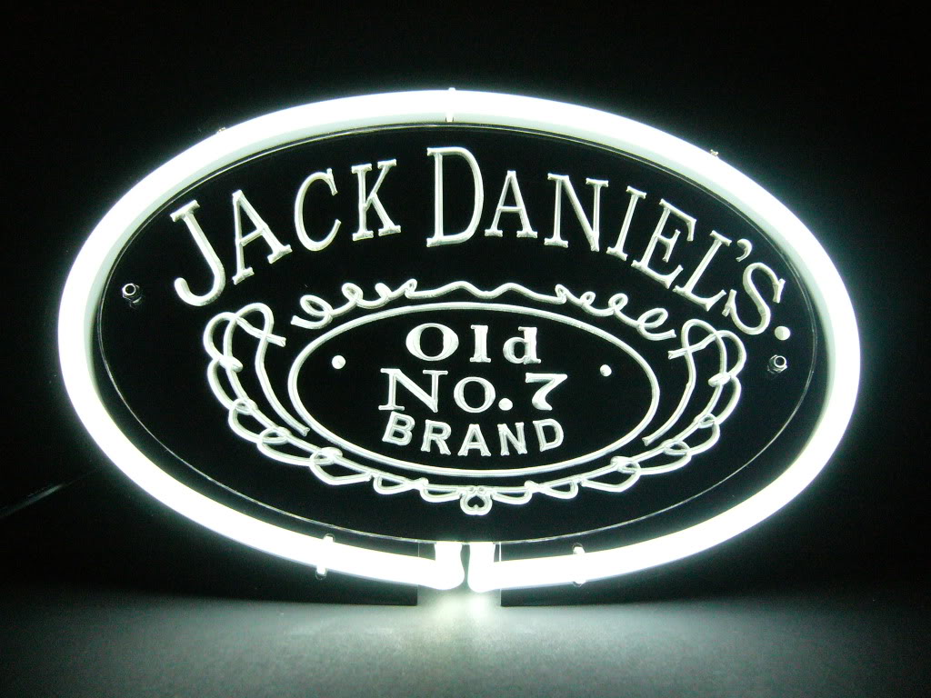Jack Daniels Old No7 Neon Bar Mancave Sign